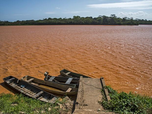 Rio Doce foi atingido pela lama da Samarco; foto de novembro de 2015 (Foto: Leonardo Merçon/ Instituto Últimos Refúgios)