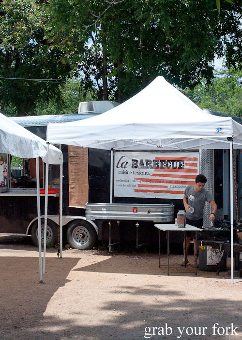 la barbecue trailer austin texas