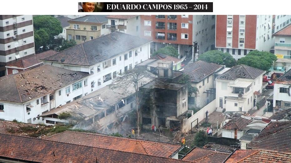 FuturaPress - Aeronave caiu na cidade de Santos