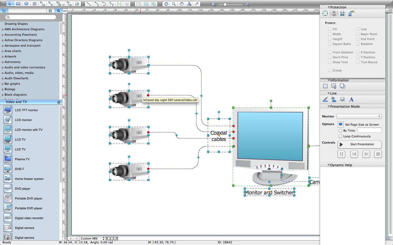 Home Cctv Wiring Diagram