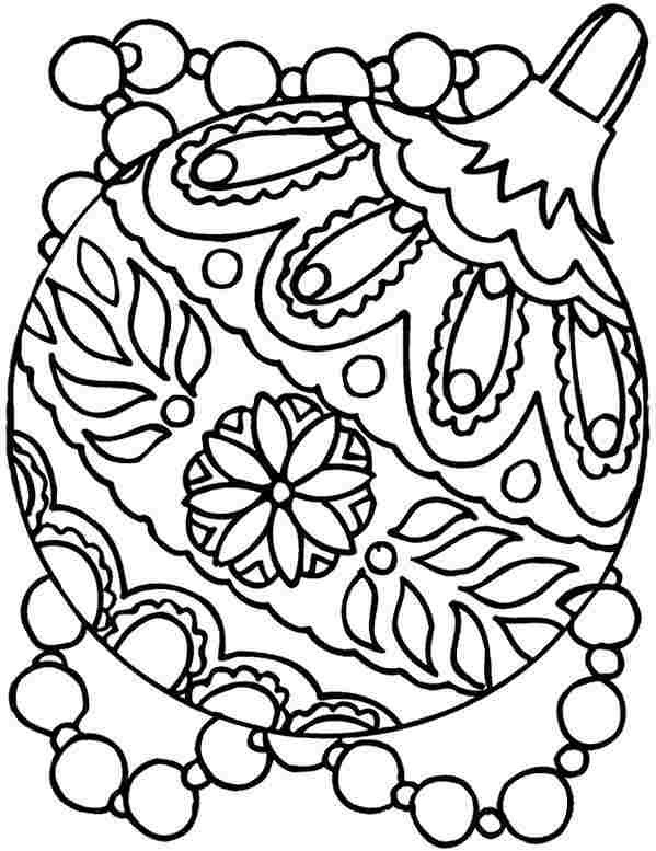 Christmas Coloring Pages To Print For Free - Coloring And Drawing