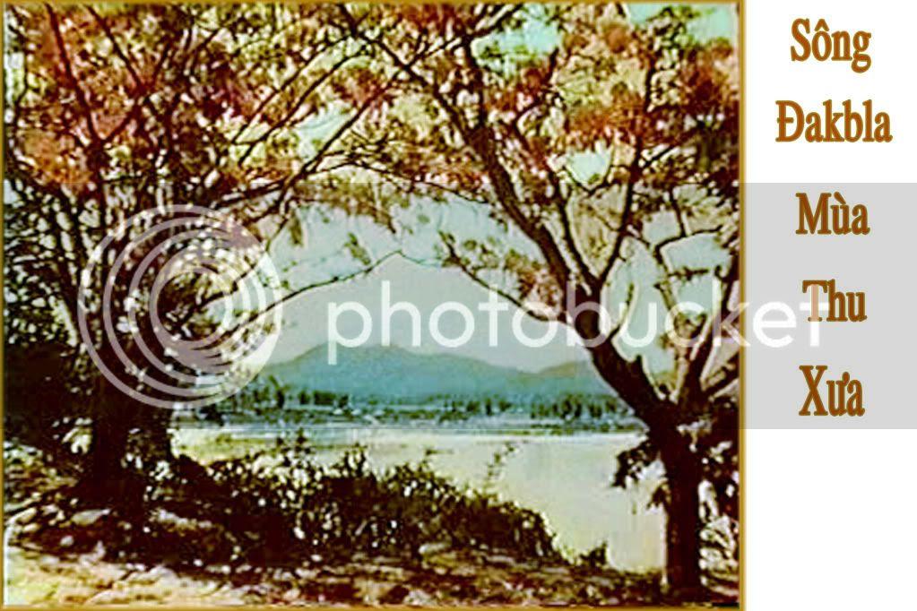 Sông Dakbla mùa thu xưa