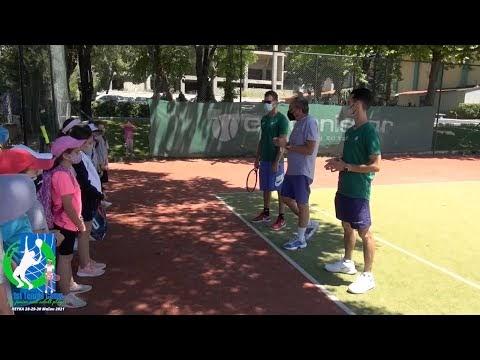 Στιγμές και δηλώσεις από την 2η μέρα του «1st Tennis Camp for junior and adult players»
