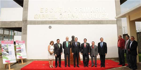 Inauguran escuela en honor a Gabriel Gracía Márquez en México