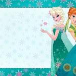 Convite Frozen Febre Congelante Fofo