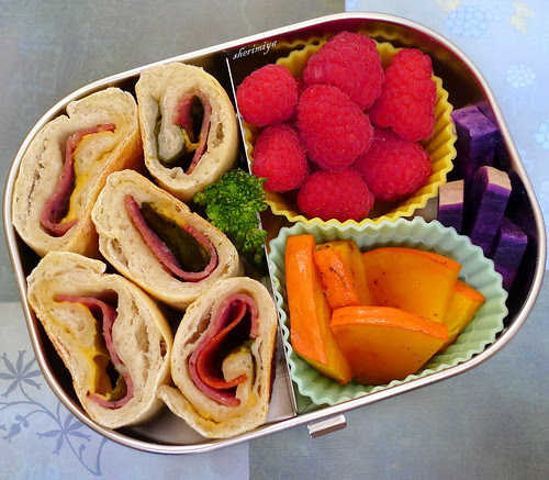 Calzone Rollups Bento by sherimiya ♥