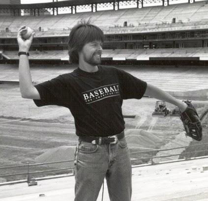 Ken Burns Throwing a Baseball