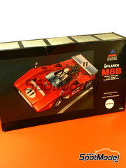 Maqueta de coche 1/24 SpotModel - Accurate Miniatures - McLaren M8B  - CanAm 1970 - maqueta de plástico