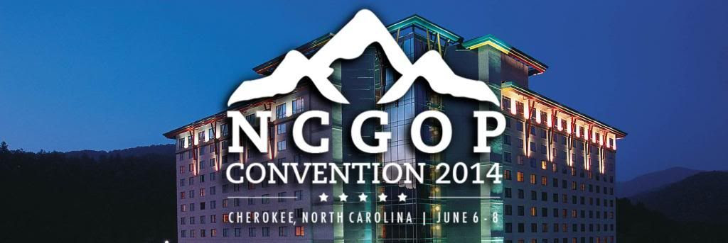 NCGOP 2014 Convention Coverage Banner