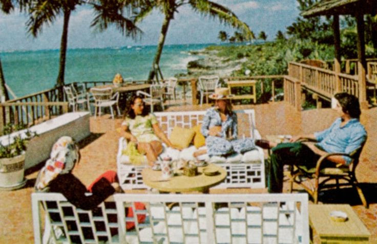 Lyford Cay, in the Bahamas, featured in T's March 1972 issue -- Photograph by Slim Aarons