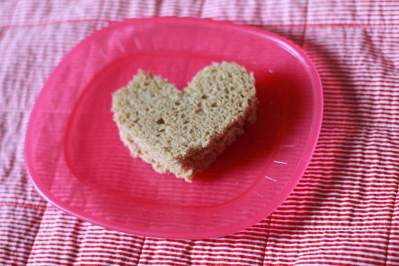 valentine's sandwich