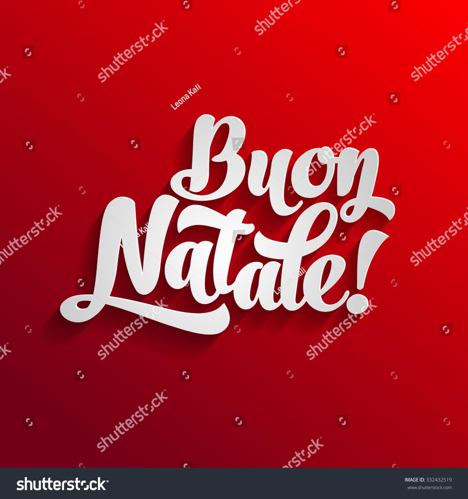 Christmas cards italian language xmast 4 vector merry christmas card template greetings stock m4hsunfo