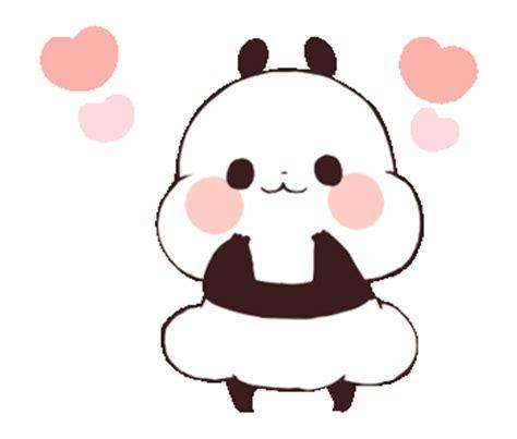 animasi bergerak panda lucu