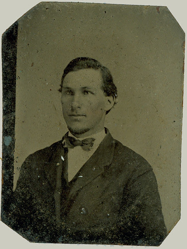 Man with bow tie.