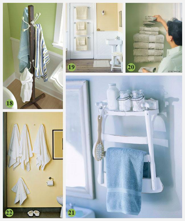 28 Creative Bathroom Storage Ideas