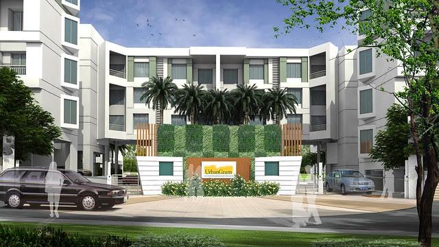 Main Entrance - 2 BHK Flat for Rs. 25 Lakhs at Urbangram Kirkatwadi on Sinhagad Road Pune 411 024