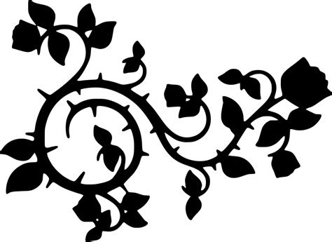 svg bunga duri berkembang hiasan imej ikon svg