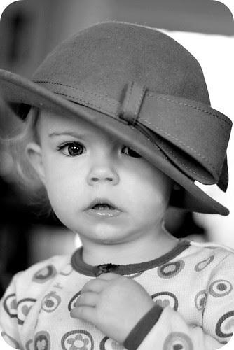Hat in B&W