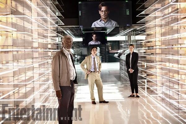 Cinemascope - Confira as primeiras imagens de Johnny Depp em Transcendence 1