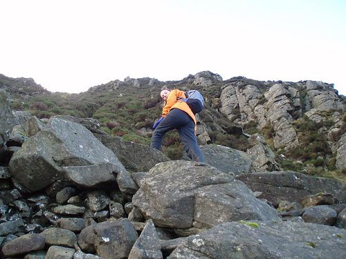 Being inelegant on icy rocky bits