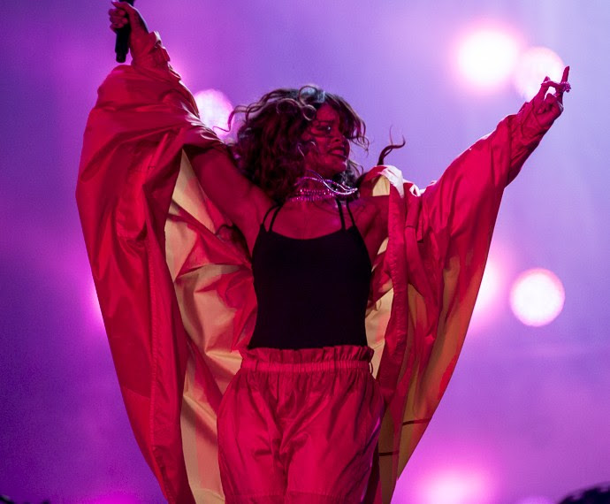 Rihanna se apresenta no Rock in Rio (Foto: Felipe Monteiro/Gshow)
