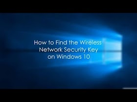 Recover WiFi Password from Windows 10