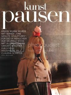 Claudia Schiffer Vogue Germany