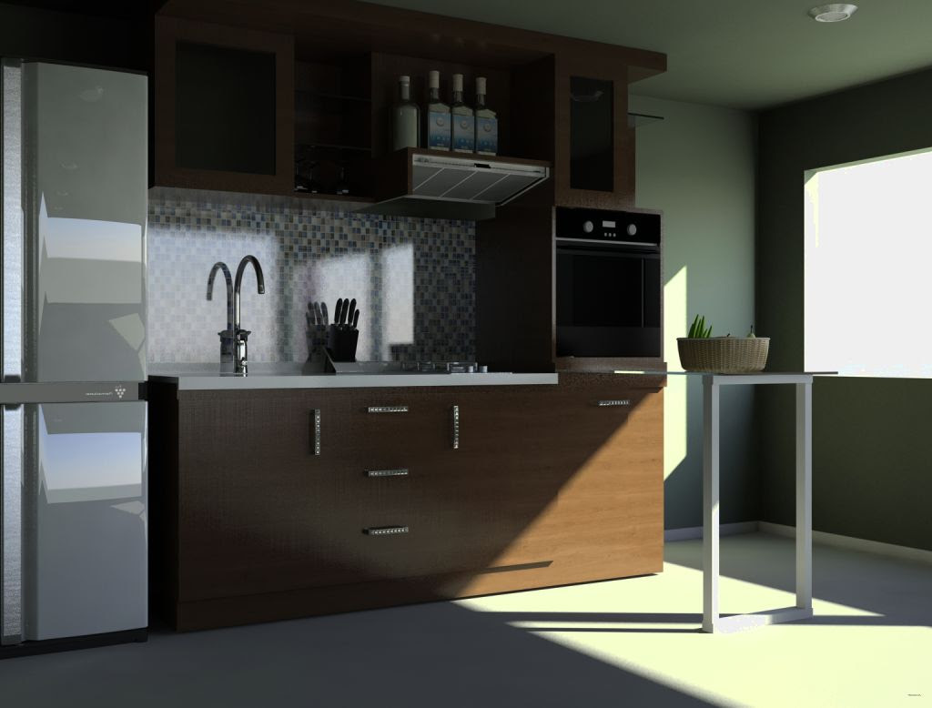 Desain  Kitchen Set Minimalis Terbaru Kitchen Appliances
