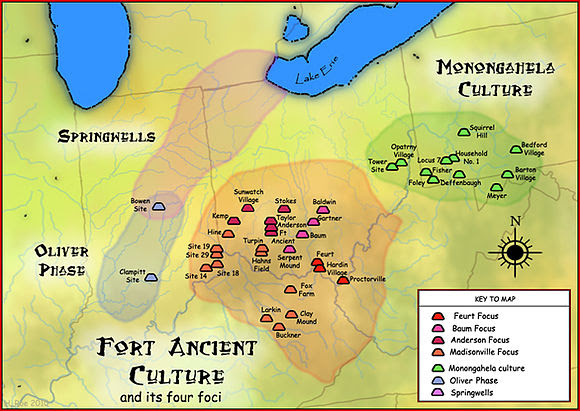 Fort Ancient Monongahela cultures by Herb Roe