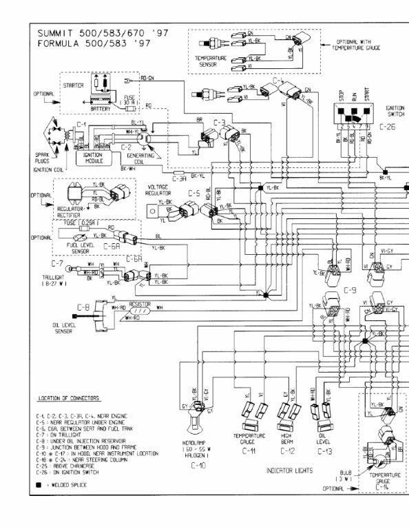 2003 440 Ski Doo Wiring Diagram Arb Compressor Wiring Harness Podewiring Yenpancane Jeanjaures37 Fr