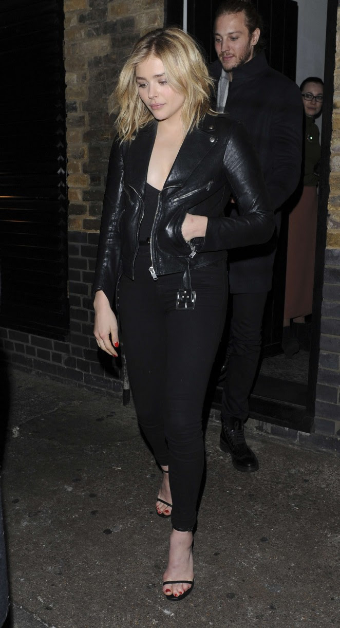 Chloe Moretz: Leaves the Chiltern Firehouse -03