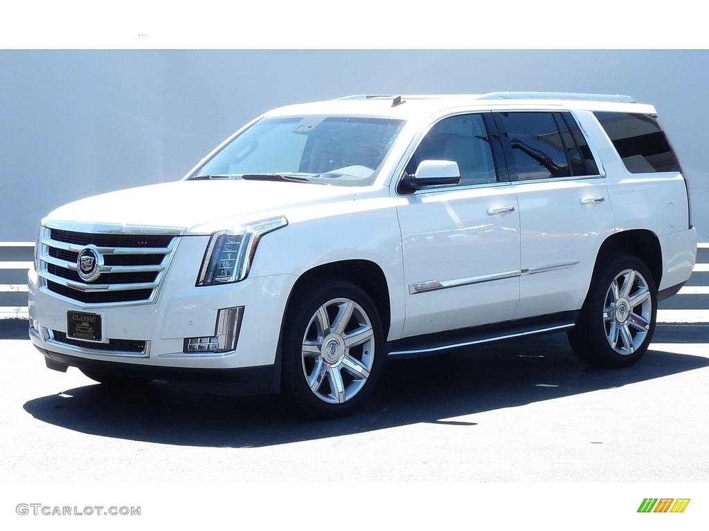 2015 White Diamond Tricoat Cadillac Escalade Luxury 4WD ...