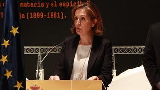 La ministra Ana Pastor, molt enfadada perquè no l'han convidada a la inauguració de l'L9 fins un dia abans de l'acte (EFE)
