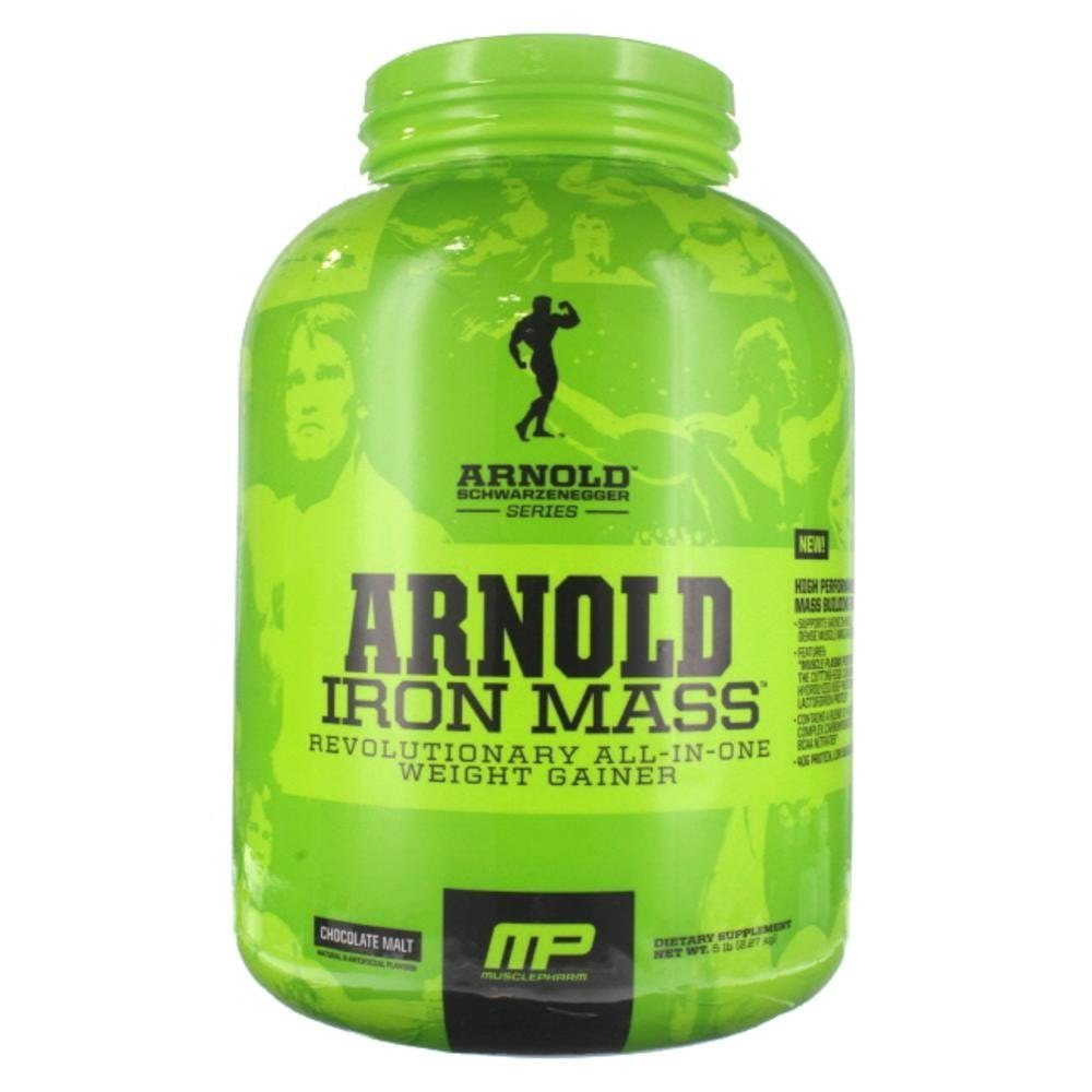 Arnold's Iron Mass – 5 lbs (Chocolate Malt) at just Rs.2800 only