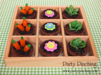 mini garden brownie tutorial