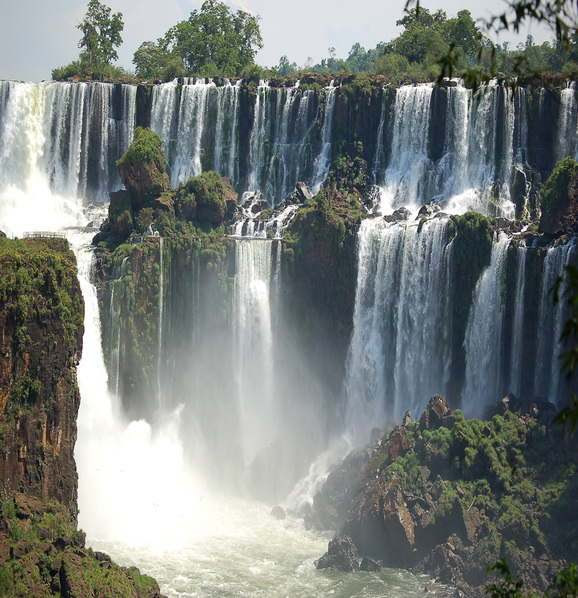 The Iguazu Waterfalls