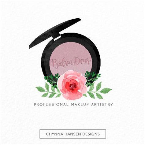 premade logo design makeup artist logo