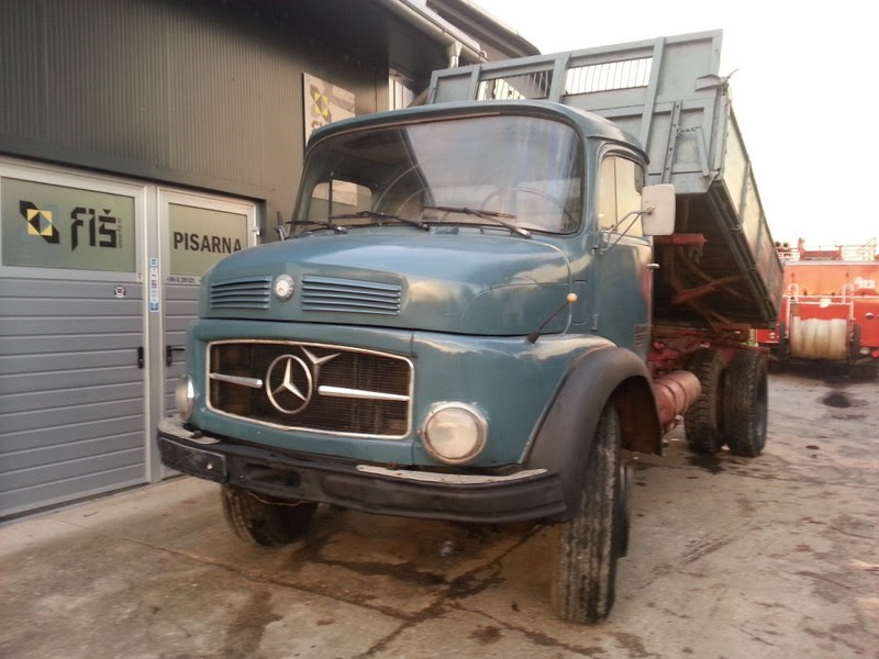 New Truck For Sale: MERCEDES BENZ 1519 (911) 6 TYRE ...