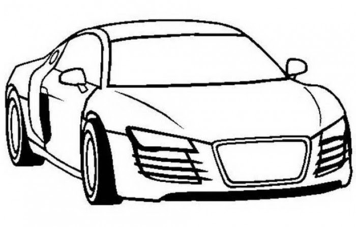 9000 Top Car Coloring Pages To Print Pictures