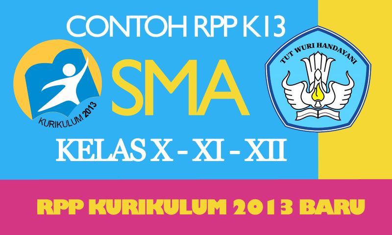 Download RPP Kurikulum 2013 SMA