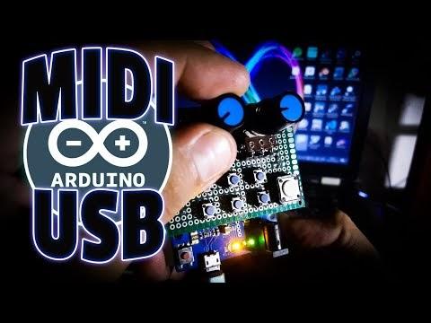 Cómo hacer el controlador MIDI USB más fácil funcional y barato con ARDUINO LEONARDO