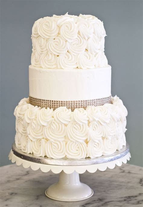 Simple Wedding Cakes Ideas