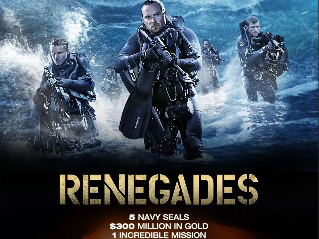 Ομάδα Υποβρύχιων Καταδρομών (Renegades) Quad Poster Πόστερ