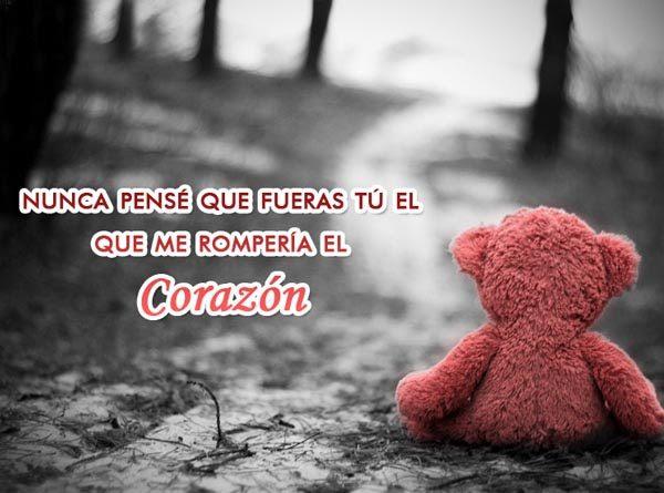 Frases Cortas De Amor Triste Me Rompes El Corazon 600x445 Fotos De