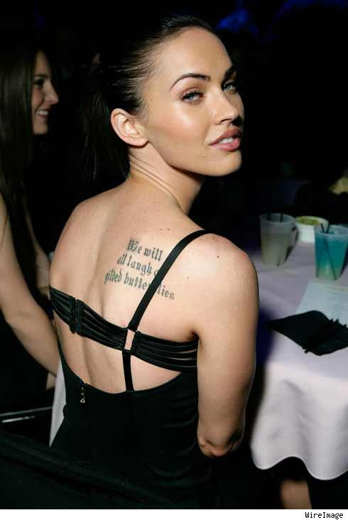 """There's no denying """"Transformers"""" star Megan Fox is gorgeous,"""