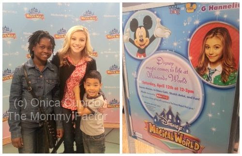 Disney Magical World Event at Nintendo World with G Hannelius