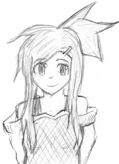 easy anime drawings  pencil