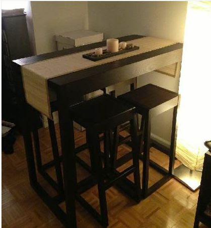 small kitchen table with stools | Kitchen Tables for Small Spaces | P…