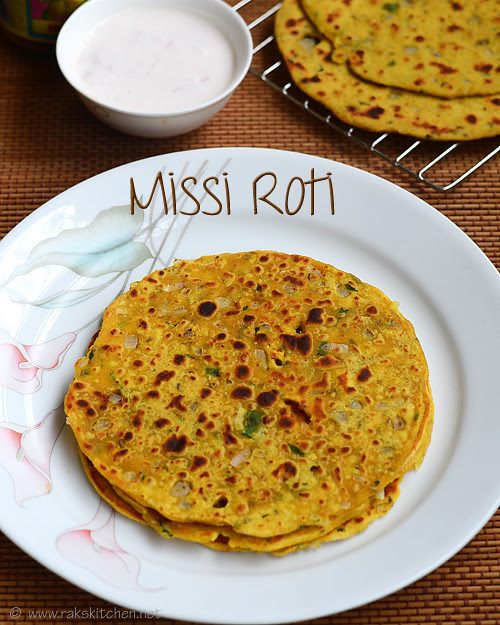 missi roti recipe easy indian dinner recipes raks kitchen
