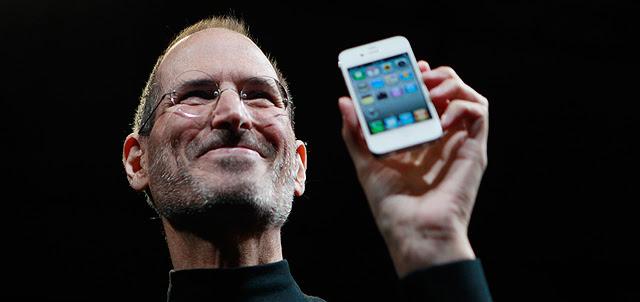 Steve Jobs en una de las presentaciones de Apple. | AP